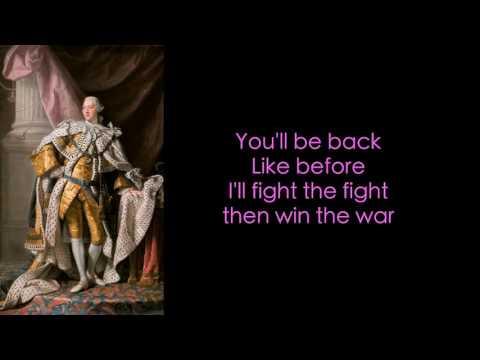 7. Hamilton Lyrics - You'll be back