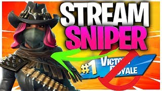 Stream Sniper Ruined My Fortnite Victory Royale!