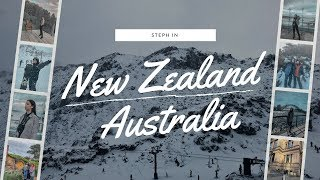 FIRST TRAVEL VLOG | Steph in New Zealand & Australia