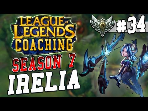 S7 LoL Coaching #34 - Irelia Top vs. Vayne (Silver 4)