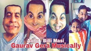 Aadu - Billi Masi Funny Musically Video || Gaurav Gera Musically Compilation || Musically Dialogue