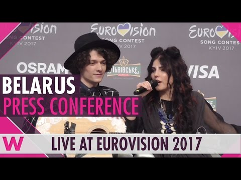 "Belarus Press Conference 2 — Naviband, ""Story of My Life"" Eurovision 2017 