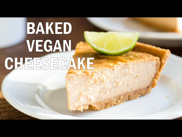 VEGAN BAKED CHEESECAKE Date Sweetened, No Soaking needed| Vegan Richa Recipes