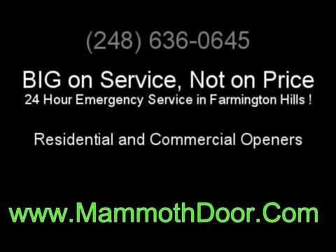Garage Door Openers Southfield Mi Youtube