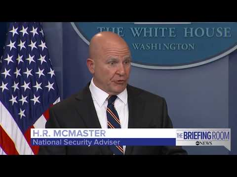 White House Press Briefing featuring National Security Advisor H.R. McMaster