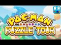 PAC-MAN Puzzle Tour (By BANDAI NAMCO Entertainment) - iOS / Android - Gameplay Video