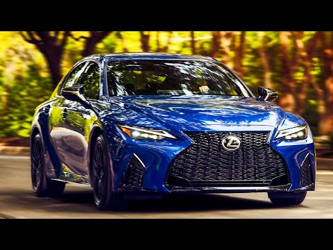 New 2021 Lexus IS 350 F SPORT - Interior, Exterior, Drive (Ultrasonic Blue)