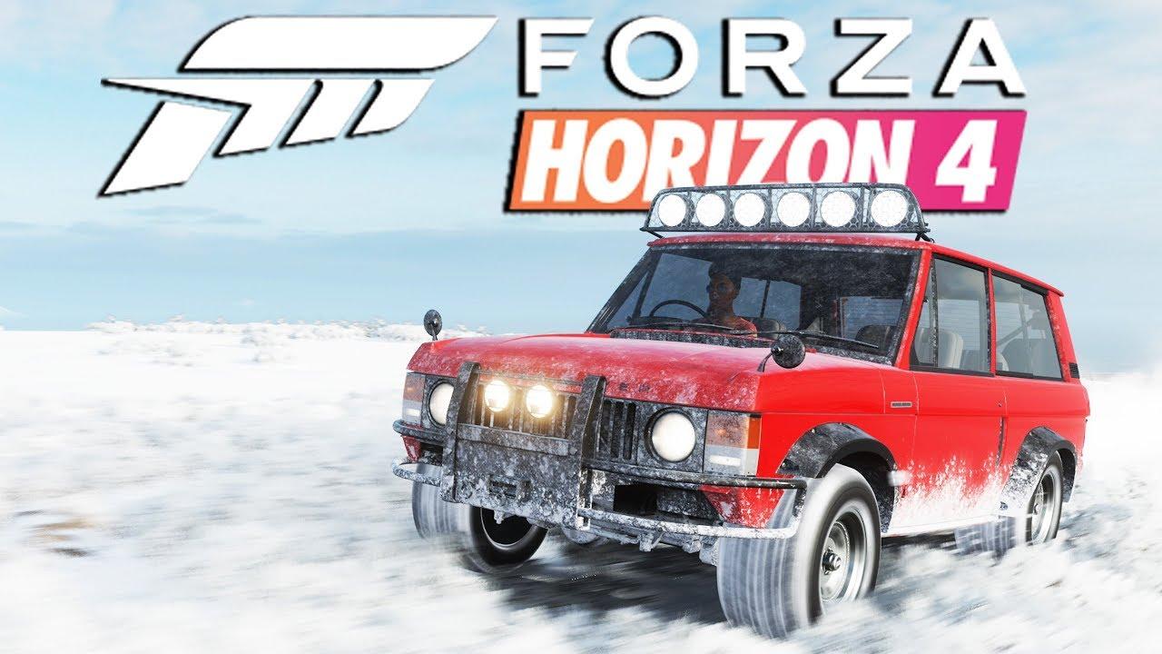 Zagrajmy w FORZA HORIZON 4 PL #25 - ZIMOWE ZAGINIONE AUTO I DRAGI NA LODZIE - 4K
