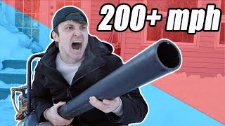 INSANE AIR CANNON vs WATERMELON EXPERIMENT!!! *Learn How To Make DIY giant air cannon