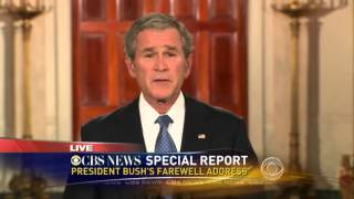 Presidential Farewell Speech George W Bush
