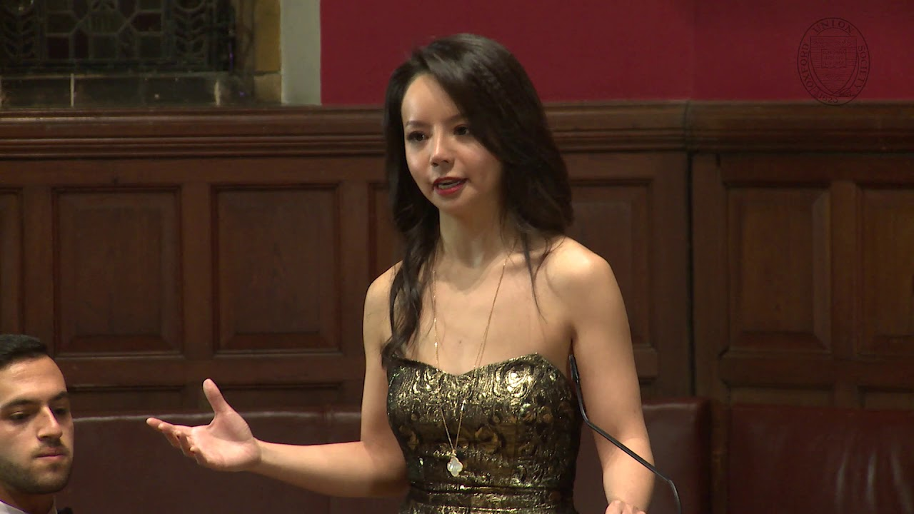 Anastasia Lin | We Would Start A New Cold War With China (3/6) | Oxford Union
