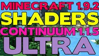Continuum Shaders Minecraft 1 12 2