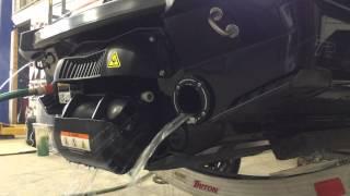Riva Rear Thru-hull Exhaust RXP-X 260