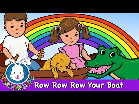 Row Row Row Your Boat | Nursery Rhymes