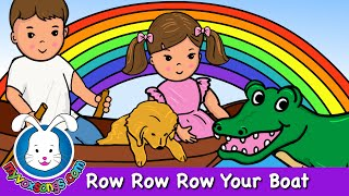 Row Row Row Your Boat | Nursery Rhymes