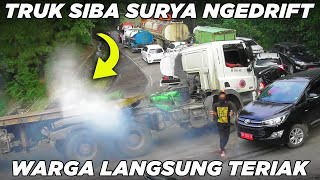 Download Sitinjau Lauik Edisi Lebaran, Drama Truk Siba Surya Ngedrift Warga Langsung Teriak