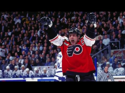 Looking back at Eric Lindros' legendary NHL career