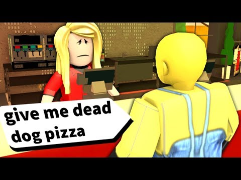 This Roblox restaurant got really annoyed with my order...