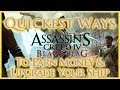 ASSASSINS CREED IV BLACK FLAG | QUICKEST WAYS TO EARN MONEY & UPGRADE YOUR SHIP | HD