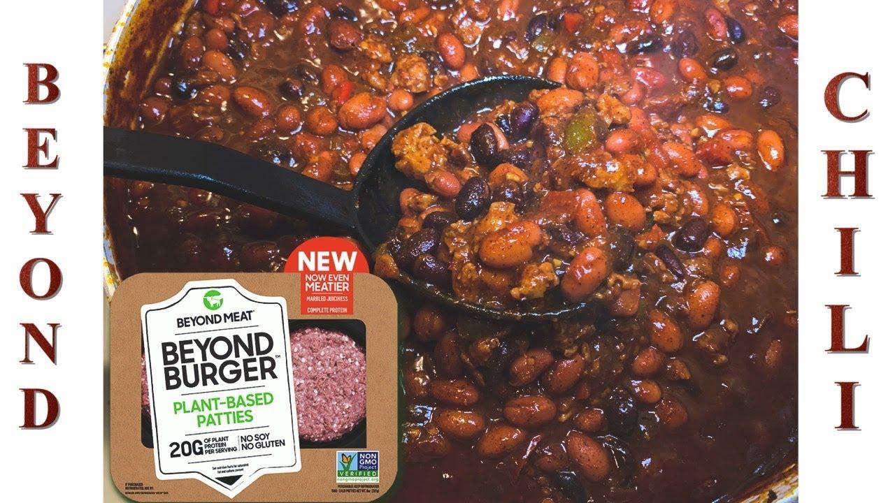 Beyond Meat Chili How To Make Vegan Chili Youtube