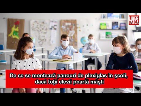 Cum arată declarația pe propria răspundere care le-ar putea fi cerută  elevilor la intrarea în şcoală - YouTube