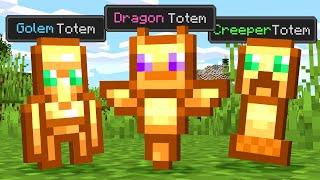 Paso Minecraft pero Hay Totems Personalizados...
