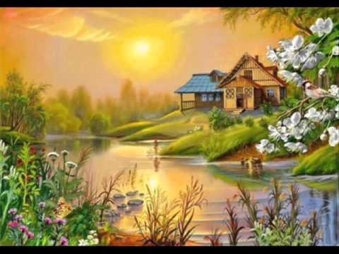 lukisan pemandangan yang indah part 4