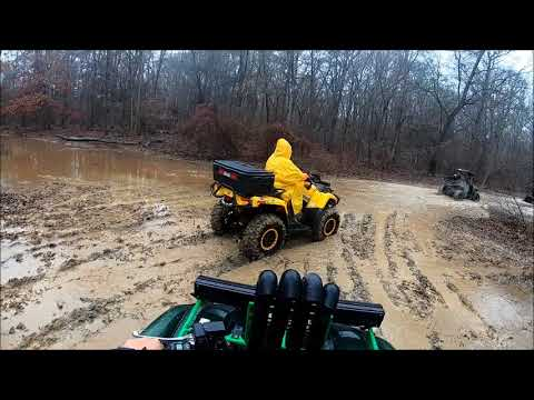 The Little RZR made it