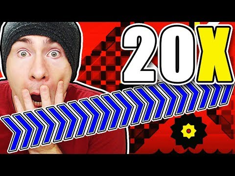 Geometry Dash 20X SPEED FOR UPDATE 2.2 CONFIRMED?! ~ NINE CIRCLES 20X SPEED COMPLETE!!!
