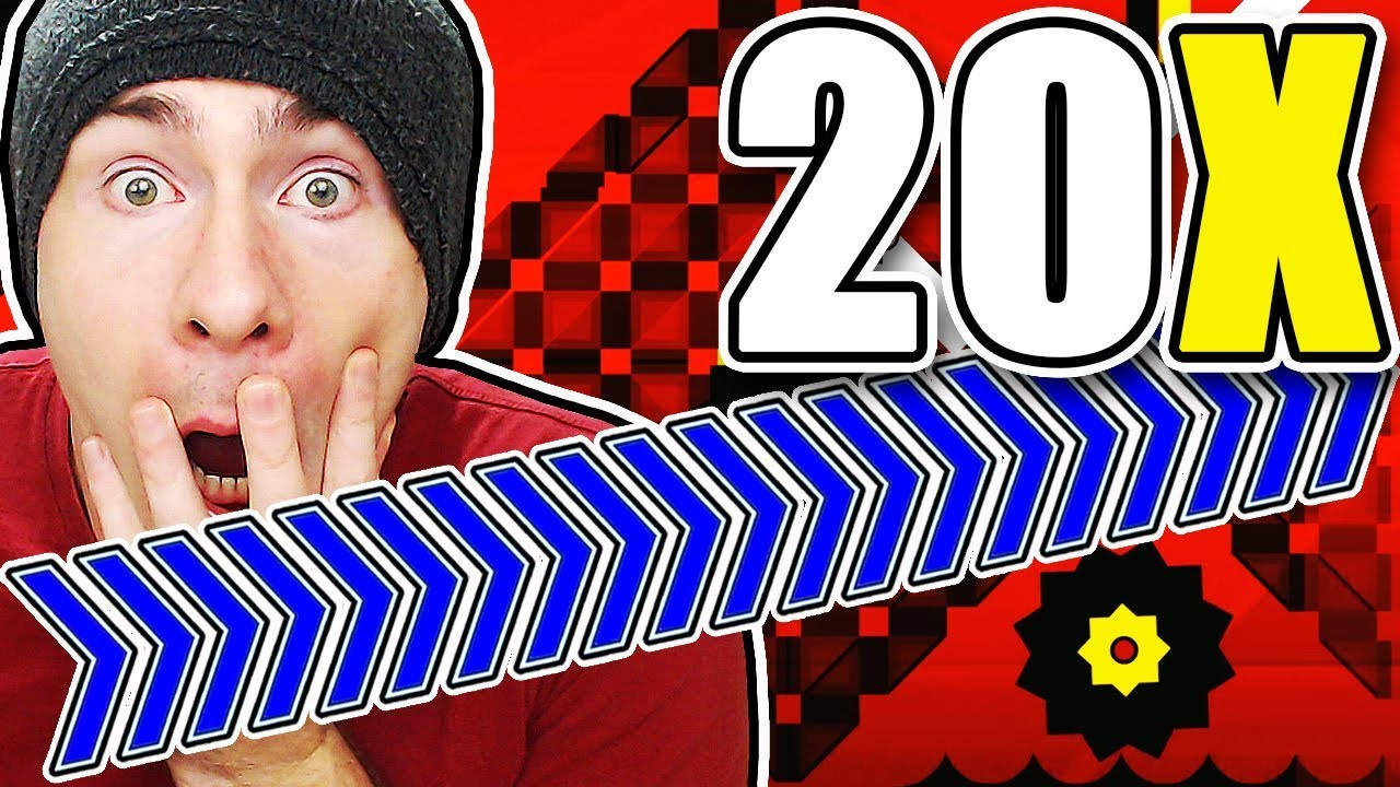 Download Geometry Dash 20X SPEED FOR UPDATE 2.2 CONFIRMED?! ~ NINE CIRCLES 20X SPEED COMPLETE!!!