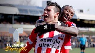 Hirving Chucky Lozano de nuevo se viste de héroe con PSV | Telemundo Deportes