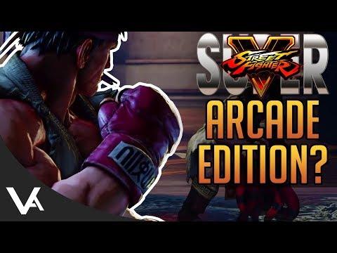 Street Fighter 5 Arcade Edition Leak? More Arcade Mode Details For SFV!