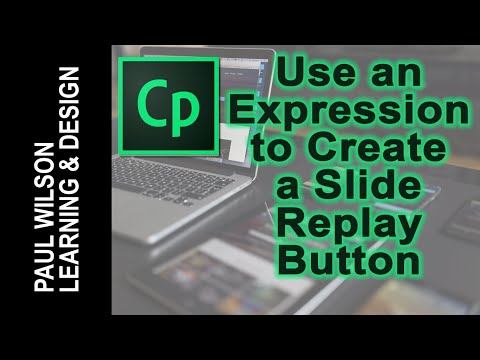 Adobe Captivate QuickTip - Create a Slide Replay Button