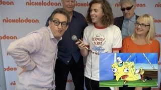 Meet the SpongeBob Squarepants Cast - Exclusive Interview