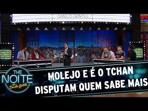 Molejo e É o Tchan disputam quem sabe mais   The Noite (27/07/17)
