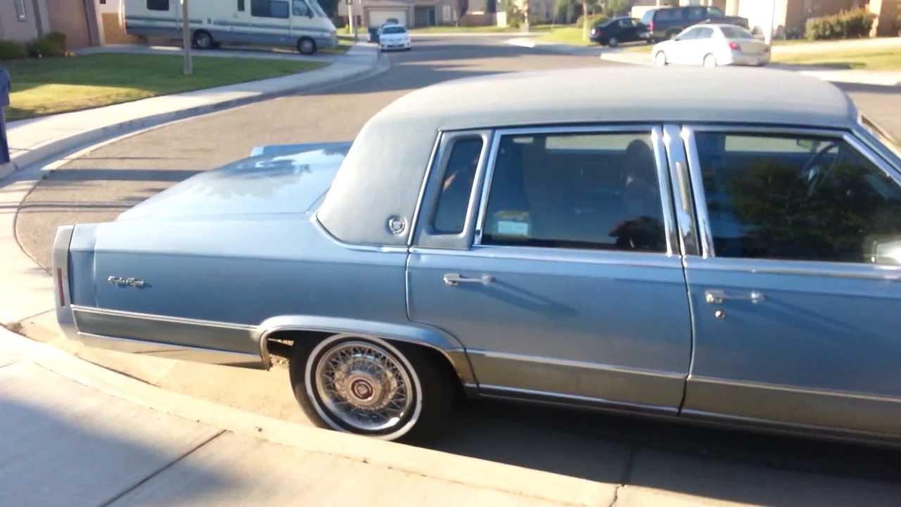 92 Cadillac Fleetwood brougham d'Elegance - YouTube