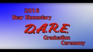 Miamisburg Bear Elementary D.A.R.E. Graduation