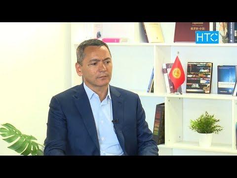 Өмүрбек Бабановдун НТС телеканалына берген МАЕГИ / 09.04.19 / НТС / #Кыргызстан