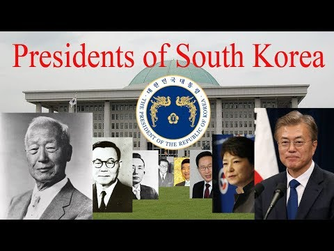 Presidents of South Korea (1948 -Present )