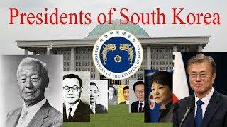 Presidents of South Korea (1948 -Present )