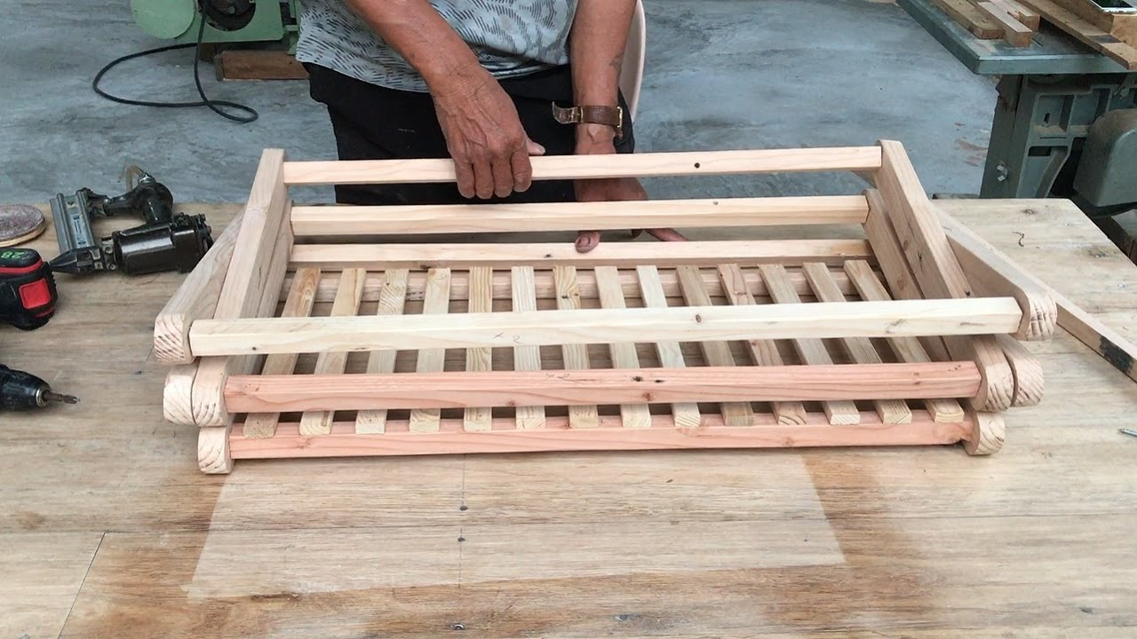 Cool Idea From Wood Scraps // How To Make Smart Shoe Rack With Unique Finishing Layer - DIY!