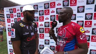 Super Hero Sunday | Cell C Sharks v DHL Stormers | Post-match interview with Lukhanyo Am