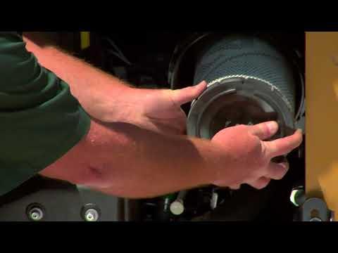 Cat® Skid Steer Loader  Air Filter  Dust Ejector Maintenance