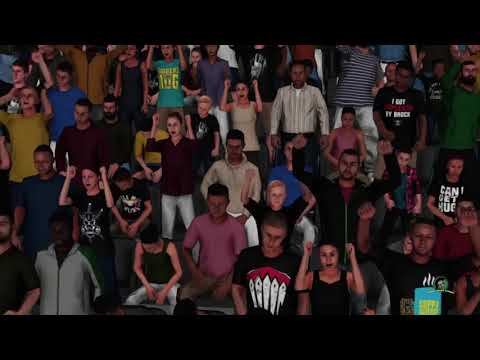 WWE 2K18_6-Woman Money In The Bank Bikini Ladder match