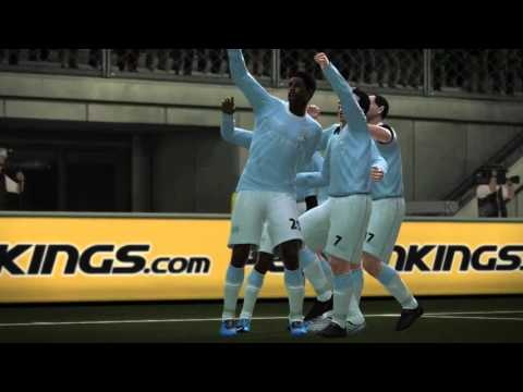 PES 10 Be A Legend: Manchester City vs Fulham, Game 27