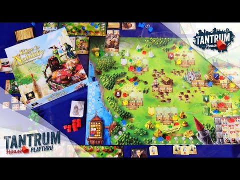 Rise to Nobility Board Game — Tantrum House — Playthru