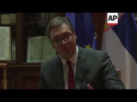 Vucic vows to lead Serbia into EU despite Russia ties