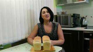 Хлеб домашний! Рецепт очень вкусного хлеба в духовке! Очень легко!