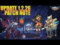 New Update 1.2.26 Patch Note Mobile Legends - New Lolita & Argus Starlight Skin, All Marksman Buffed