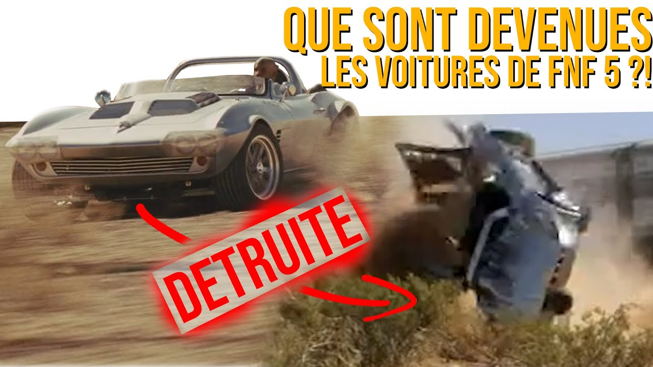 Que sont DEVENUES les voitures de FAST AND FURIOUS 5 ?! (Fast Five)